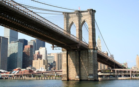 Cross the Brooklyn Bridge on foot with a guided walking tour.