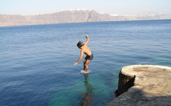 Dive into the Aegean Sea.