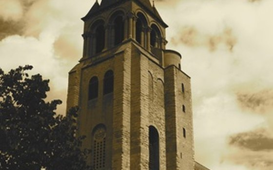 The Church of St. Germain des Pres, not far from L'Hotel, gives its name to the district.
