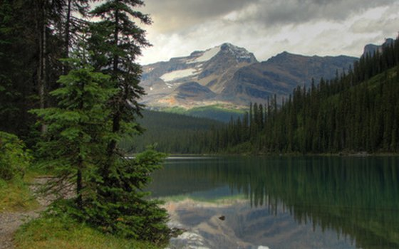 Visit Yoho National Park on a Canadian Rockies bicycle tour.