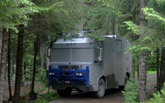 There are several campgrounds within the Buffalo National River area that can accommodate RVs.