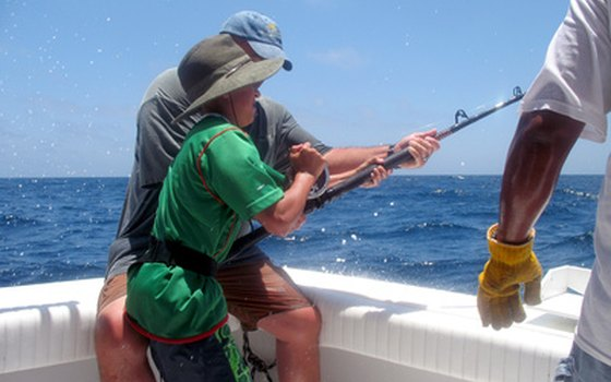 Sometimes you need a little help to reel in that big one.