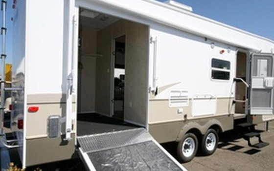 Some RV parks are adjacent or near to the horse-boarding facilities, rather than on the same property.