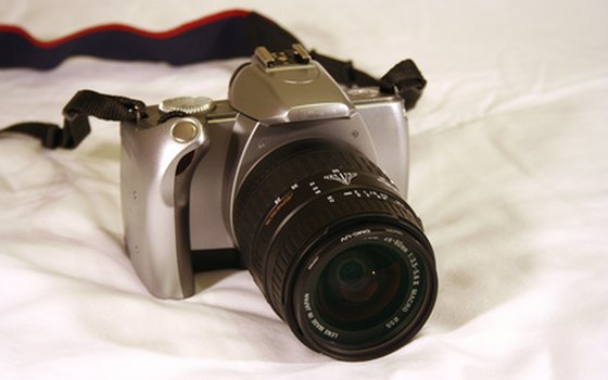 How to Clean the Inside Lens of an SLR Camera | USA Today