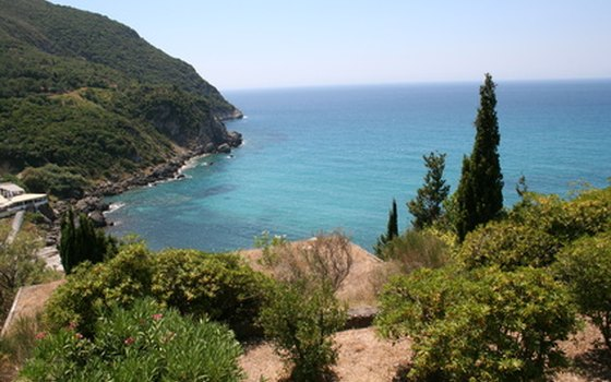 Tour packages to the island of Corfu can include a villa or self-catering apartment rental.