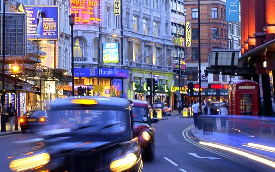 You can book a two-hour taxi tour of London on your way to a West End play.