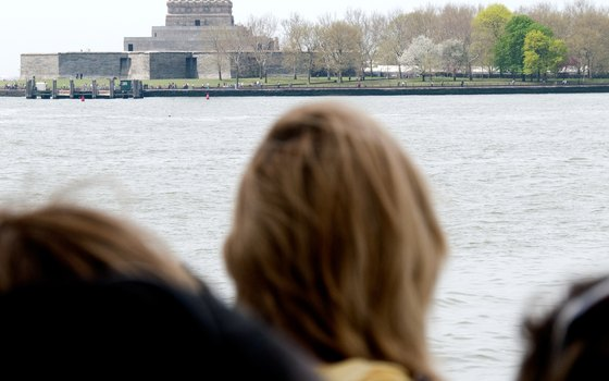 The ferry to Liberty Island and the Statue of Liberty departs from docks in Battery Park.