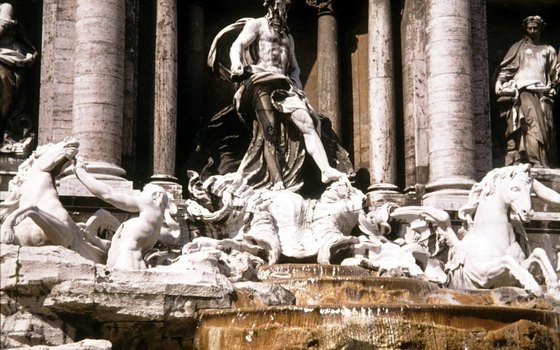 Italian folklore dictates that tossing a coin in Trevi Fountain will ensure your return to the Eternal City of Rome.