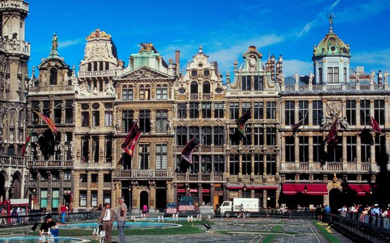 The Grand Place in Brussels is a popular place to dine out and watch the world go by.