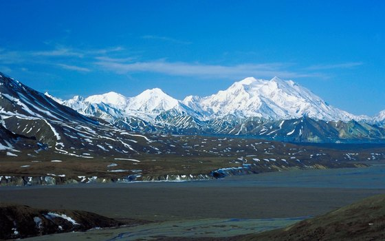 Much of Alaska's Denali National Park lacks established trails.