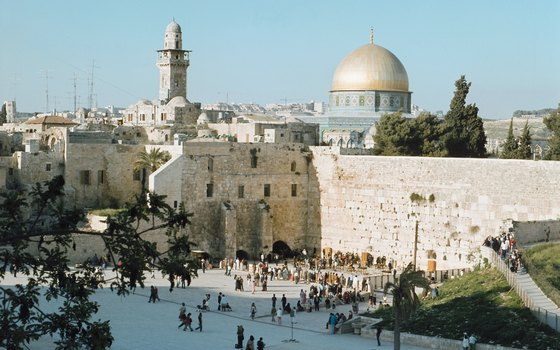 Most, but not all, Jerusalem tours include the Western Wall, and some also include the Temple Mount.