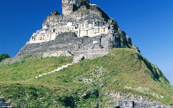 Xunantunich dates back to about the 7th century AD.