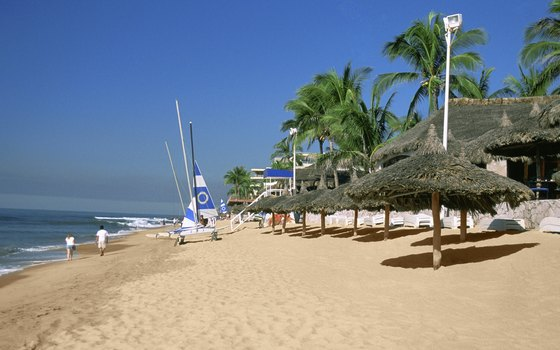 Many all-inclusive hotels in Mexico's Pacific Riviera include water sports like sailing.