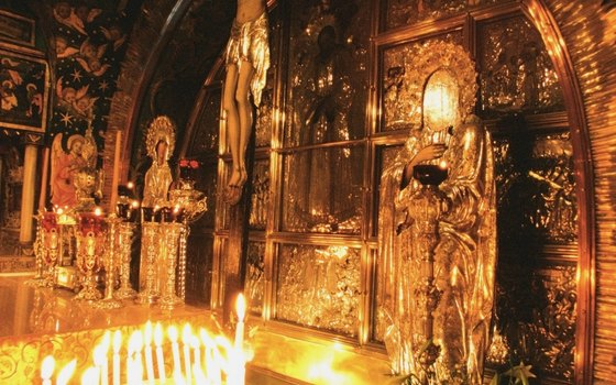 The Church of the Holy Sepulchre is the holiest site in Christianity.