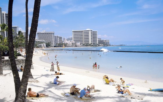 Aqua Bamboo is just a few blocks from Waikiki Beach.