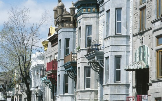 Montreal's famous stairs and eclectic colonial-era homes are worth a visit.