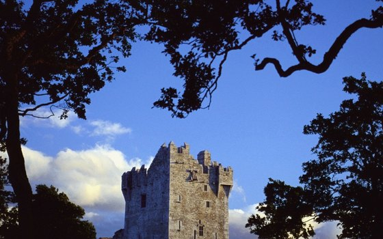 Ross Castle and the Ring of Kerry are favorite tour sites around Killarney.