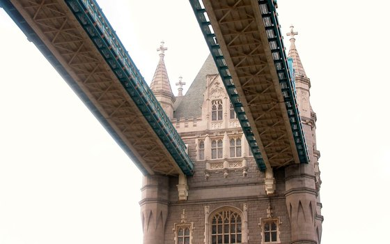 Tower Bridge's high-level walkways now house a permanent museum.
