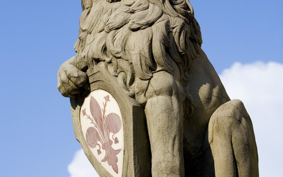 Sculpted by Donatello, the lion statue in PIazza della Signoria carries the crest of Florence.