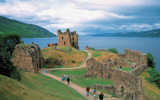 Many tours of Scotland include a trip to Loch Ness.