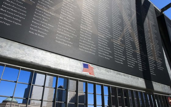 The 9/11 Memorial is located at the site of the former World Trade Center complex.