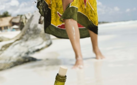 A $2 sarong can serve as a skirt, towel or sleeping bag if your backpack is full.