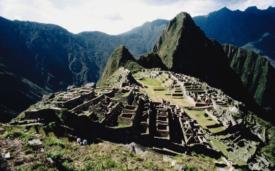 Machu Picchu's site on a mountaintop affords photo-worthy views.