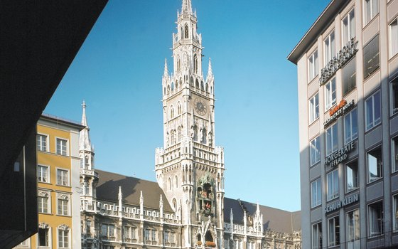 Take a stroll through Munich's old town.