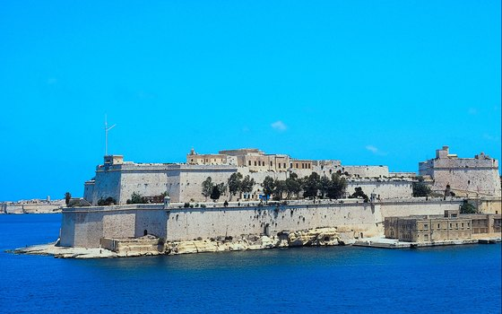 Valletta's fortifications date from the 1500s.