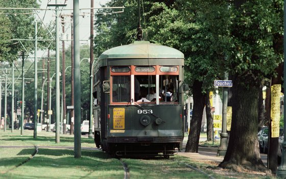 The St. Charles Avenue streetcar.