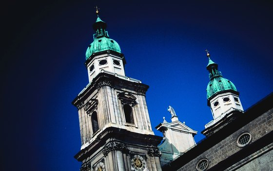 Salzburg Cathedral is the hub of the city's religious life.