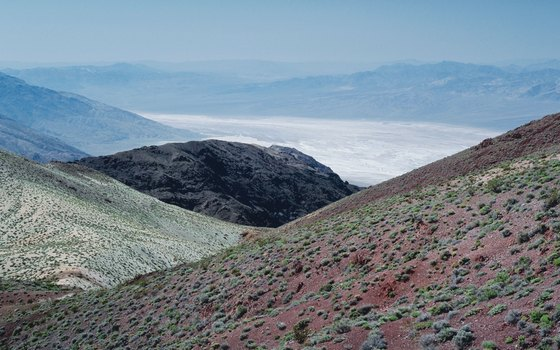 Hikers who trek up into Death Valley's surrounding mountains gain plenty of yawning views.