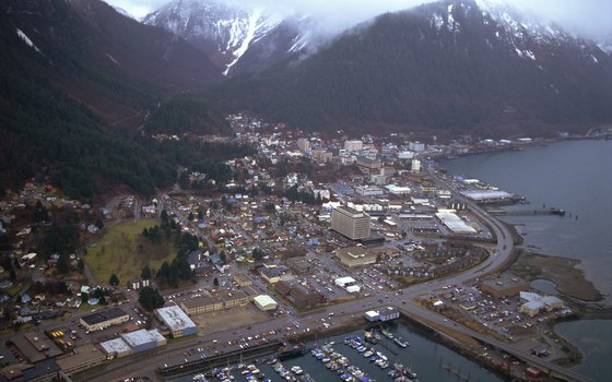 Aerial View of Juneau