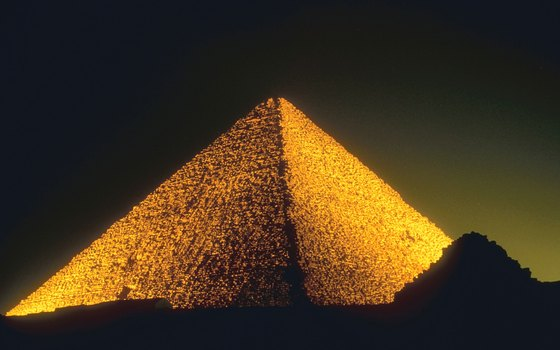 Of the original Seven Wonders of the World, only the Great Pyramid remains intact.