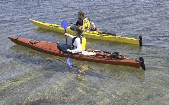 You can kayak to some of the area's best snorkel spots.