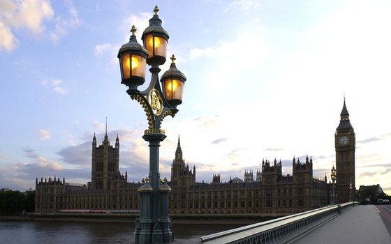 The view over Westminster Bridge