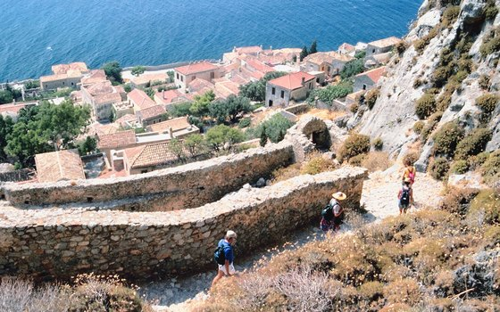 The Peloponnese's huge bays and ancient towns offer ideal territory for boats.