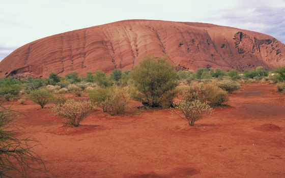 An Outback tour will take you to dusty sights like Ayers Rock.