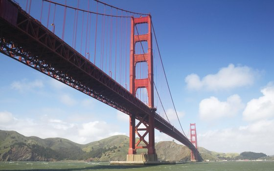 Cross the famed bridge that stretches from the city to Marin County.