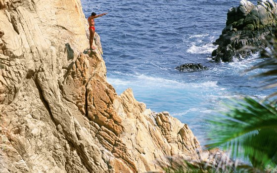 Acapulco, famous for its cliff divers