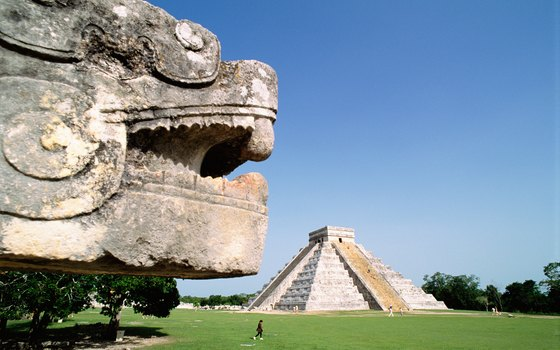 The ancient ruins at Chichen Itza provide a dramatic setting for concerts.