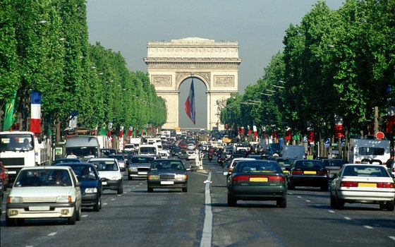 The Champs-Elysees and nearby streets offer plenty of shopping opportunities, not to mention the Arc de Triomphe..
