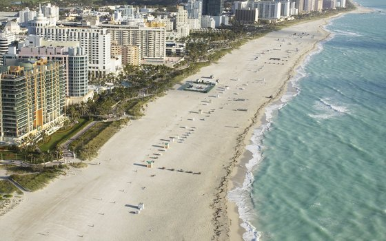 Miami Beach, where the vast majority of the 25 tallest buildings have been built since 2005.