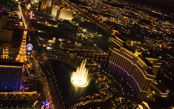 The Las Vegas Strip is the main attraction of the city.