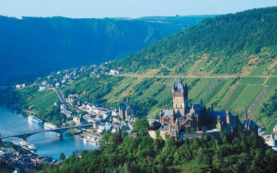 The Rhine Valley offers spectacular views.