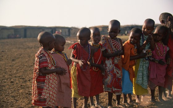 Africa is home to approximately 1 billion people, as of 2008, according to the Population Reference Bureau.