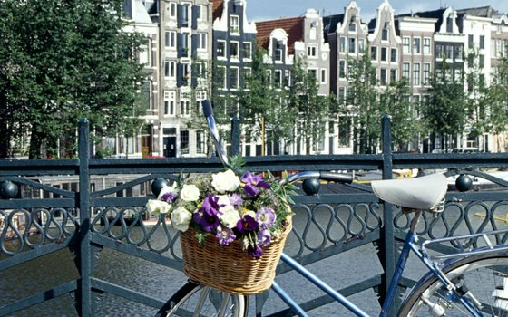Join the locals in cycling through cities such as Amsterdam.