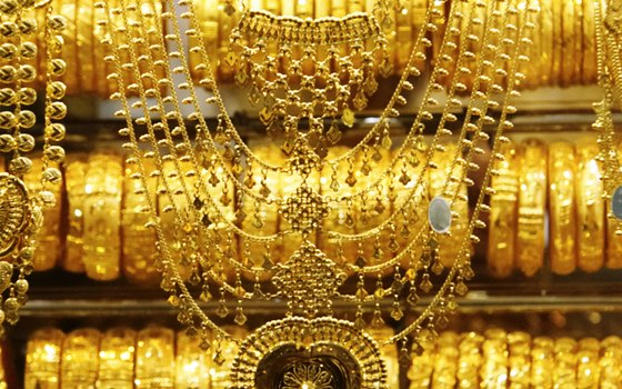 The Deira Gold Souk is a global destination for jewelry lovers.