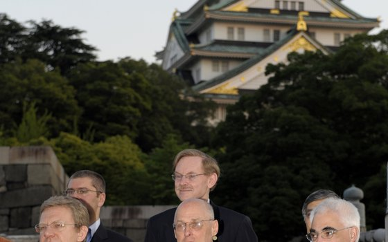 Osaka Castle was the site of a meeting of world leaders in 2011, which included U.S. Secretary of the Treasury Henry Paulson.