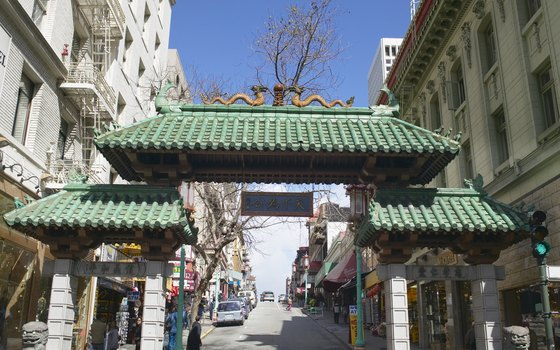 Pass through the famed gateway to enter Chinatown.